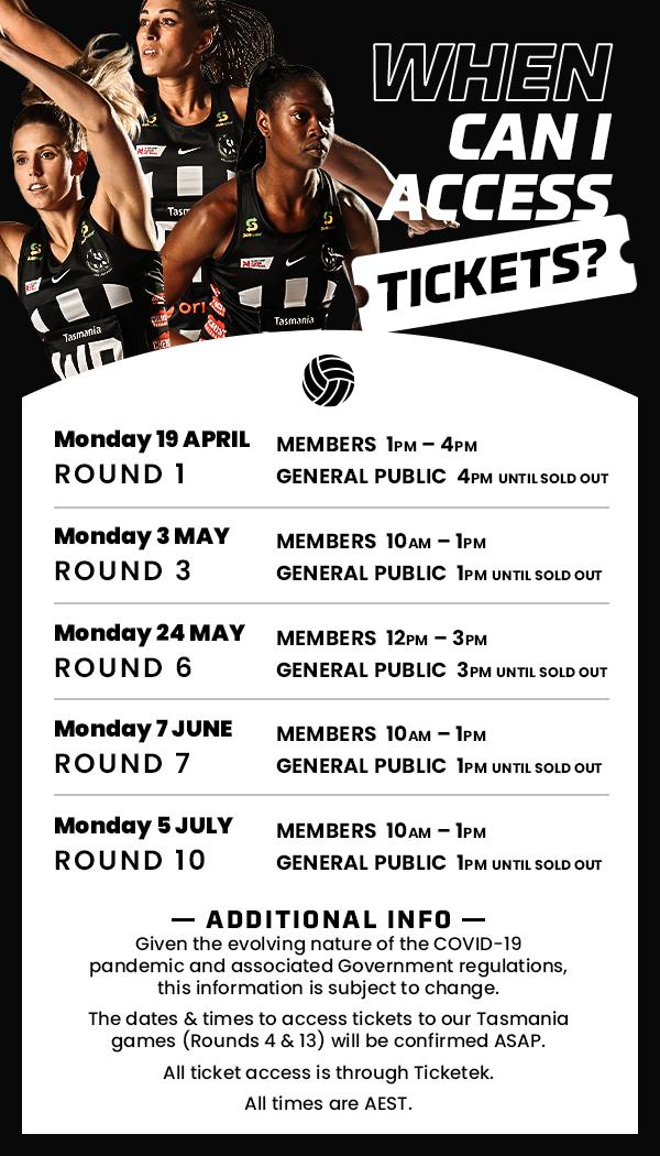 Ticketing info