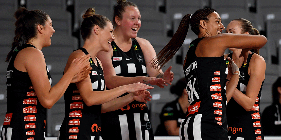 Coming together for Confident Girls Round - Collingwood